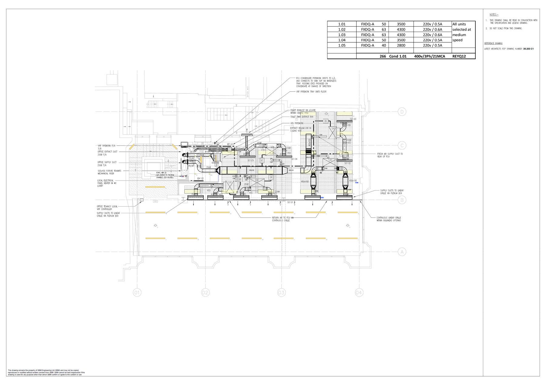 mechancial layouts