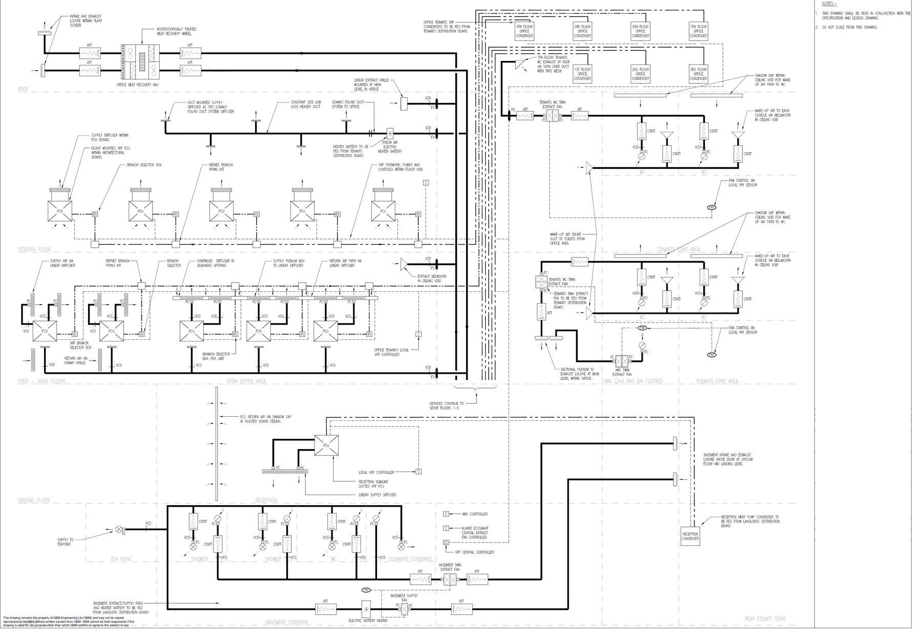 M&E Schematics - SGBCAD DESIGN LTD on